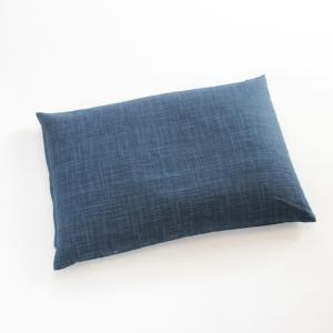 パイプ枕 なごみ こい藍色 |watayamori