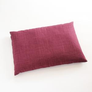 パイプ枕 なごみ むらさき色 |watayamori