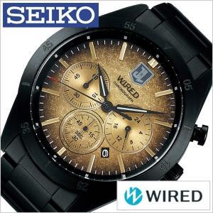 セイコー ワイアード ソリディティ 時計 SEIKO WIRED SOLIDITY 腕時計 メンズ ゴールド AGAT717|watch-lab