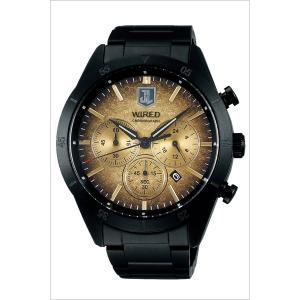 セイコー ワイアード ソリディティ 時計 SEIKO WIRED SOLIDITY 腕時計 メンズ ゴールド AGAT717|watch-lab|02