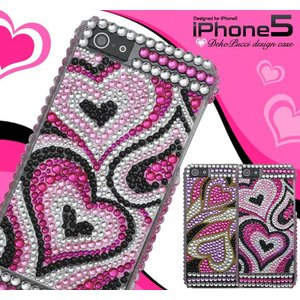 アイフォンケース iPhone5/5S/iPhoneSE用 プッチ風デコケース iPhone5ケース アイフォン5ケース アイフォン5カバー|watch-me