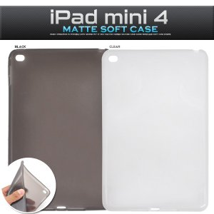 iPadケース iPad mini 4用 マットソフトケース for Apple iPad mini アイパッドミニ4|watch-me