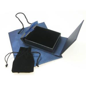 ギフト用紙袋付 ポーチ入りボックス ラッピング ギフトボックス クリスマスプレゼントにも|watch-me