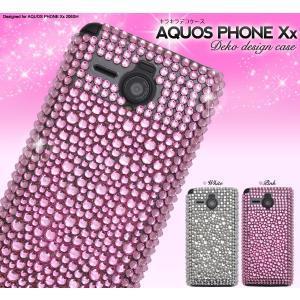 スマホケース AQUOS PHONE Xx 206SH用 デコケース SB ソフトバンクモバイル アクオスフォン Xx 206SH|watch-me