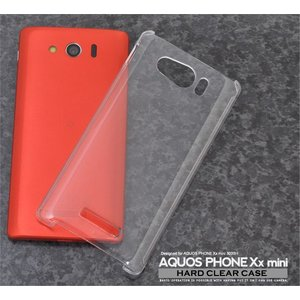 AQUOS PHONE Xx mini SoftBank 303SH用 ハードクリアケース ソフトバンク アクオスフォン ダブルエックス ミニ 303SH|watch-me