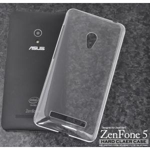 ASUS ZenFone 5用 ハードクリアケース エイスース ゼンフォン5 SIMフリー/シムフリー/激安/格安 スマートフォン スマホケース スマホカバー|watch-me