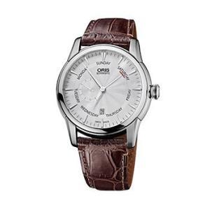 オリス Oris 腕時計 アートリエ スモールセコンド ポインターデイ デイト 機械式自動巻 745...