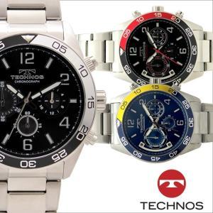 テクノス T5641 オールステンレスモデル クロノグラフ 腕時計 メンズ TECHNOS 正規品 アウトレット|watch-outletstore