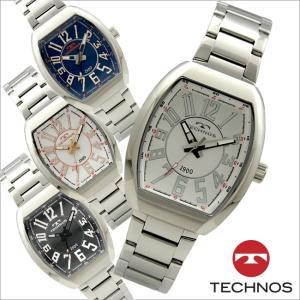 テクノス T5651 オールステンレスモデル 三針  腕時計 メンズ TECHNOS 正規品 アウトレット|watch-outletstore