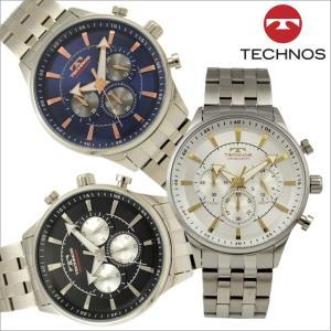 テクノス T6A12 オールステンレスモデル クロノグラフ 腕時計 メンズ TECHNOS 正規品 アウトレット|watch-outletstore