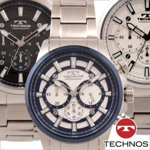 テクノス T6A17 オールステンレスモデル クロノグラフ 腕時計 メンズ TECHNOS 正規品 アウトレット|watch-outletstore