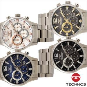 テクノス T8A29 オールステンレスモデル クロノグラフ 腕時計 メンズ TECHNOS 正規品 アウトレット|watch-outletstore