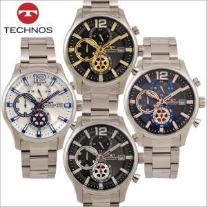 テクノス T8A30 オールステンレスモデル クロノグラフ 腕時計 メンズ TECHNOS 正規品 アウトレット|watch-outletstore
