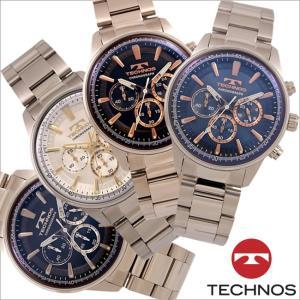 テクノス T8A31 オールステンレスモデル クロノグラフ 腕時計 メンズ TECHNOS 正規品 アウトレット|watch-outletstore