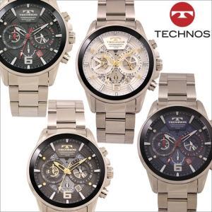 テクノス T8A32 オールステンレスモデル クロノグラフ 腕時計 メンズ TECHNOS 正規品 アウトレット|watch-outletstore