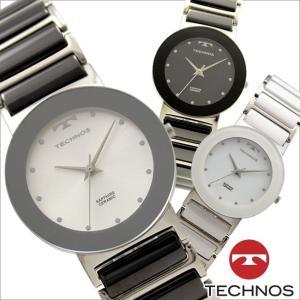 テクノス T9652 セラミック&ステンレスモデル 三針 サファイアガラス 腕時計 メンズ TECHNOS 正規品 アウトレット|watch-outletstore