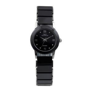 テクノス T9834TB ブラック セラミック 三針  腕時計 レディース TECHNOS 正規品 アウトレット|watch-outletstore