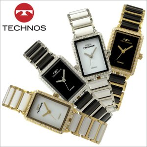 テクノス T9893 セラミック&ステンレスモデル 三針  腕時計 レディース TECHNOS 正規品 アウトレット|watch-outletstore