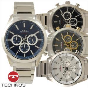 テクノス T9A21 オールステンレスモデル クロノグラフ 腕時計 メンズ TECHNOS 正規品 アウトレット|watch-outletstore