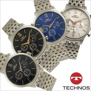 テクノス T9A23 オールステンレスモデル クロノグラフ 腕時計 メンズ TECHNOS 正規品 アウトレット|watch-outletstore