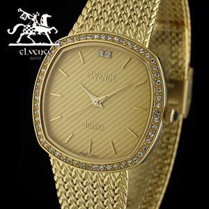 ELVENCE エルヴェンス EL-701G-2  腕時計 スイス製ムーブメント 金|watch-shop