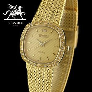 ELVENCE エルヴェンス EL-701L-2  腕時計 スイス製ムーブメント 金|watch-shop