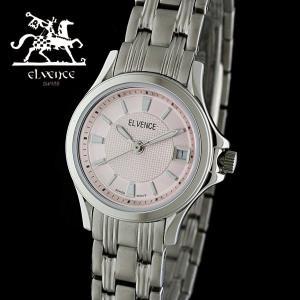 ELVENCE エルヴェンス EL-703L-4  腕時計 スイス製ムーブメント ピンク|watch-shop