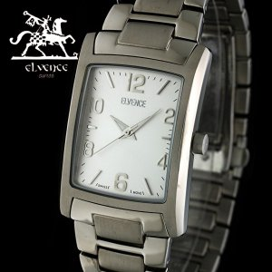 ELVENCE エルヴェンス EL-706G-4  腕時計 スイス製ムーブメント オールチタン シルバー|watch-shop