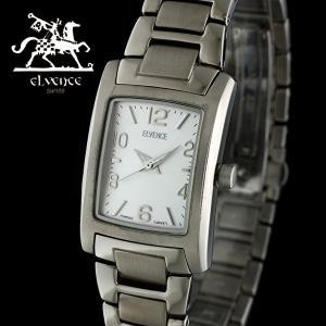 ELVENCE エルヴェンス EL-706L-4  腕時計 スイス製ムーブメント オールチタン シルバー|watch-shop