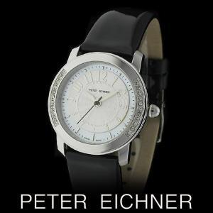 PETER EICHNER ピーター アイシュナー PE-301L-BK レディース ボーイズ 腕時計 スイス製ムーブメント 黒|watch-shop