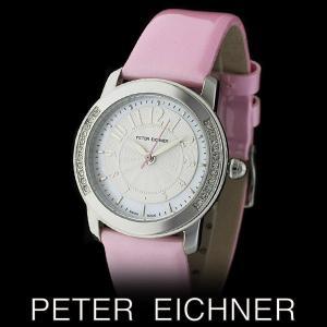 PETER EICHNER ピーター アイシュナー PE-301L-PK レディース ボーイズ 腕時計 スイス製ムーブメント ピンク|watch-shop