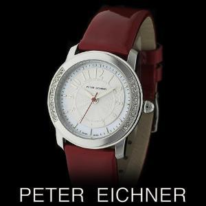 PETER EICHNER ピーター アイシュナー PE-301L-RD レディース ボーイズ 腕時計 スイス製ムーブメント 赤|watch-shop