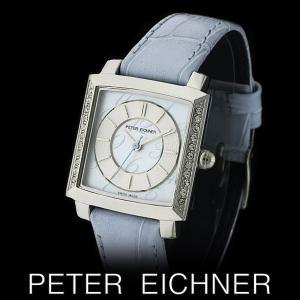 PETER EICHNER ピーター アイシュナー PE-302L-BL レディース ボーイズ 腕時計 スイス製ムーブメント 青|watch-shop