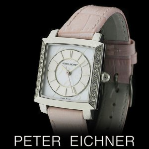 PETER EICHNER ピーター アイシュナー PE-302L-PK レディース ボーイズ 腕時計 スイス製ムーブメント ピンク|watch-shop