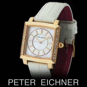 PETER EICHNER ピーター アイシュナー PE-302L-WH レディース ボーイズ 腕時計 スイス製ムーブメント 白|watch-shop
