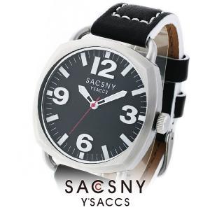メンズ レディース 腕時計 SACCSNY Y'SACCS サクスニー イザック SYA-15089S-BK 黒 ユニセックス|watch-shop
