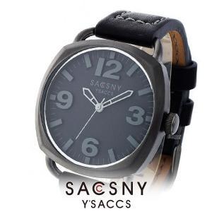 メンズ レディース 腕時計 SACCSNY Y'SACCS サクスニー イザック SYA-15089U-BK 黒 ユニセックス|watch-shop
