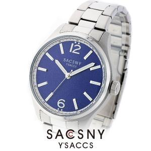 メンズ レディース 腕時計 SACCSNY Y'SACCS サクスニー イザック SYA-15091-BL 青 ユニセックス|watch-shop