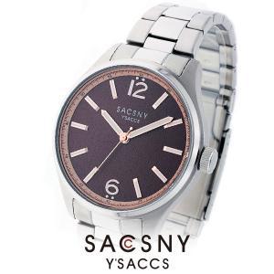 メンズ レディース 腕時計 SACCSNY Y'SACCS サクスニー イザック SYA-15091-BR ブラウン ユニセックス watch-shop