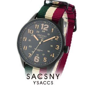 メンズ レディース 腕時計 SACCSNY Y'SACCS サクスニー イザック SYA-15093B-BK 黒 ユニセックス|watch-shop
