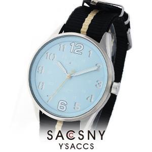 メンズ レディース 腕時計 SACCSNY Y'SACCS サクスニー イザック SYA-15093S-LB 水色 ユニセックス|watch-shop