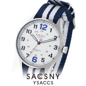 メンズ レディース 腕時計 SACCSNY Y'SACCS サクスニー イザック SYA-15093S-SI シルバー ユニセックス|watch-shop