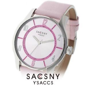 メンズ レディース 腕時計 SACCSNY Y'SACCS サクスニー イザック SYA-15095-PKPK ピンク ユニセックス|watch-shop