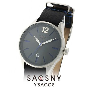 メンズ レディース 腕時計 SACCSNY Y'SACCS サクスニー イザック SYA-15107-GY グレー ユニセックス watch-shop