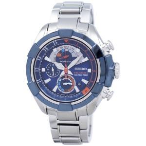 セイコー SEIKO 腕時計 海外モデル VELATURA ALARM CHRONOGRAPH ベラ...