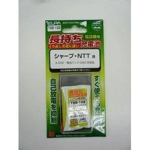 ELPA(エルパ) コードレス電話機用交換充電池 NiMH TSB-102 (SHARP/NTT 用)