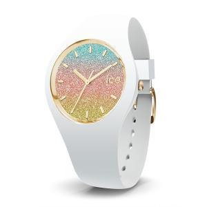 アイスウォッチ ICE Lo レディース(スモール)015604 マリブ 国内正規品 腕時計 キラキラ ホワイト 柔らかくて肌触りの良いシリコンラバー|watchcrash
