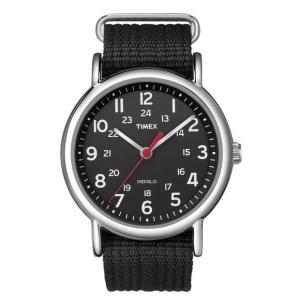 TIMEX タイメックス 腕時計T2N647 ブラック ベルトメンズ サイズ ウィークエンダーセント...