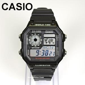 (送料無料)CASIO メンズ デジタル 腕時計 AE-1200WH-1A チープカシオ チプカシ 10気圧防水 多機能 デジタル メンズ レディース|watchcrash