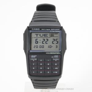 CASIO カシオ 腕時計  データーバンク DBC-32-1A ( DBC32-1A ) レトロフューチャー デジタル メンズ腕時計  送料無料 / ネコポス便 BOXなし|watchcrash